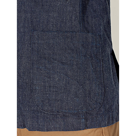 Buy JOHN LEWIS & Co. Slub Deconstructed Blazer, Dark Indigo Online at johnlewis.com