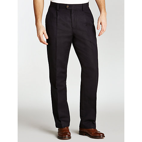Buy John Lewis Linen Cotton Trousers Online at johnlewis.com