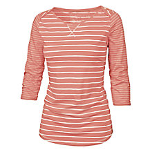 Buy Fat Face Lille Stripe Envelope Neck T-Shirt Online at johnlewis.com