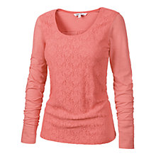 Buy Fat Face Tea Rose Lilly Lace Top, Tea Rose Online at johnlewis.com