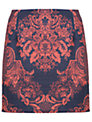 Miss Selfridge Printed A-Line Skirt, Multi