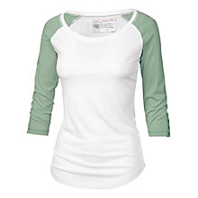 Buy Fat Face Riva Raglan T-shirt Online at johnlewis.com