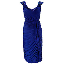 Buy Gina Bacconi Ruched Jersey Dress Online at johnlewis.com