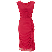 Buy Gina Bacconi Chiffon Frill Dress Online at johnlewis.com