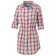 Buy Fat Face Matilda Check Dress, Rouge Online at johnlewis.com
