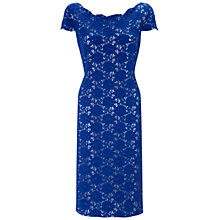 Buy Gina Bacconi Lace Dress, Summer Blue Online at johnlewis.com
