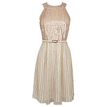 Buy Coast Amorette Sequin Dress, Cream Online at johnlewis.com
