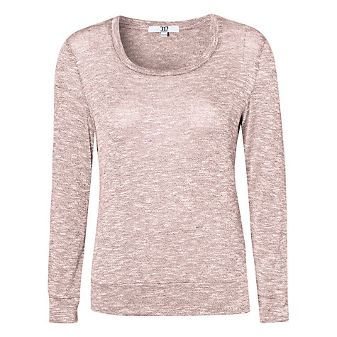 Buy True Decadence Heritage Patch Jumper, Light Pink Online at johnlewis.com
