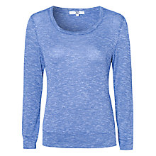 Buy True Decadence Heritage Patch Jumper, Light Blue Online at johnlewis.com