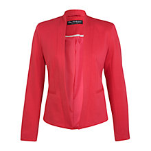 Buy Miss Selfridge Ponte Blazer, Raspberry Online at johnlewis.com