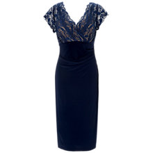 Buy Gina Bacconi Jersey Lace Bodice Dress Online at johnlewis.com
