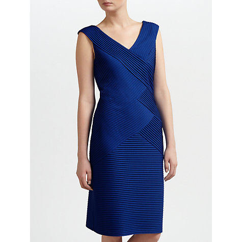 Buy Gina Bacconi Jersey Bandage Dress, Autumn Blue Online at johnlewis.com