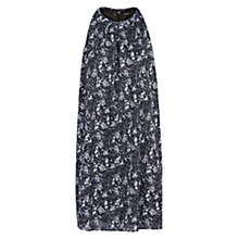 Buy Mango Liberty Print Dress, Black Online at johnlewis.com