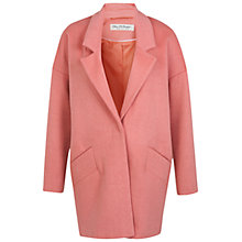 Buy Miss Selfridge Boyfriend Coat, Pink Online at johnlewis.com