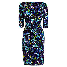 Buy Coast Riya Printed Dress, Multi Blue Online at johnlewis.com