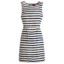 Buy Joules Adana Dress, Blue Stripe Online at johnlewis.com