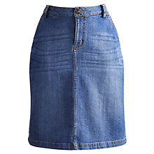 Buy Joules Dani Skirt, Light Denim Online at johnlewis.com