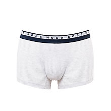 Buy BOSS Essential Stripe Trunks, Grey Online at johnlewis.com