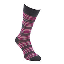 Buy BOSS Exclusive Design Socks, Pink/Grey Online at johnlewis.com