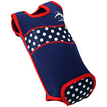 Buy Konfidence Polka Dot Babywarmer, Navy/White Online at johnlewis.com