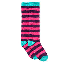 Buy John Lewis Girl Fluffy Boot Socks Online at johnlewis.com