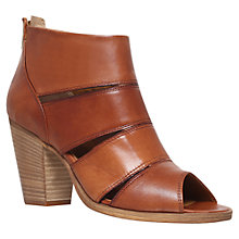 Buy Carvela Kiwi Leather Ankle Shoe Boots, Tan Online at johnlewis.com