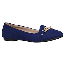 Buy Carvela Lull Flat Suede Loafers Online at johnlewis.com