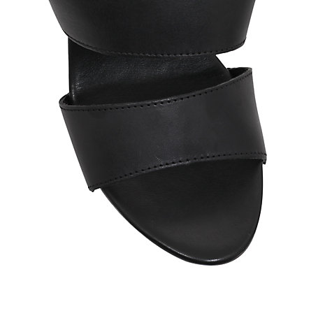 Buy Carvela Kitten Sandals, Black Online at johnlewis.com