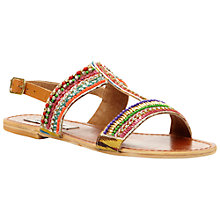 Buy Steve Madden Gilded Beaded Sandals Online at johnlewis.com