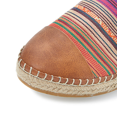 Buy Steve Madden Destiney Canvas Espadrilles Online at johnlewis.com