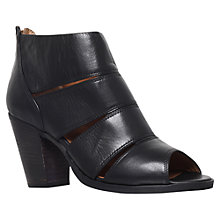 Buy Carvela Kiwi Leather Ankle Shoe Boots, Black Online at johnlewis.com