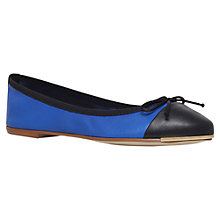 Buy Carvela Law Ballerinas, Black / Blue Online at johnlewis.com