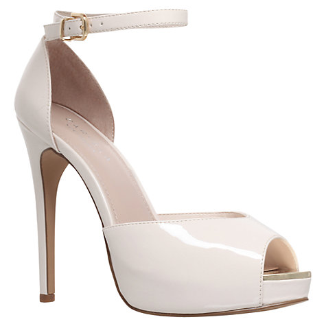 Buy Carvela Gossip Stiletto Heel Peep Toe Court Shoes Online at johnlewis.com