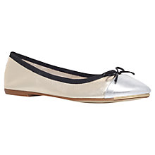 Buy Carvela Law Leather Ballerinas Online at johnlewis.com