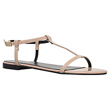 Buy KG by Kurt Geiger Match Sandals, Nude Online at johnlewis.com