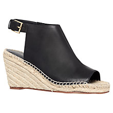 Buy KG by Kurt Geiger Nelly Shoes, Black Online at johnlewis.com