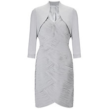 Buy Gina Bacconi Pleated Chiffon Dress Online at johnlewis.com