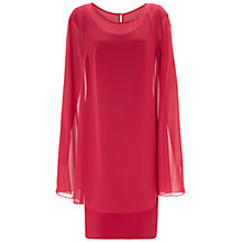 Buy Gina Bacconi Dress And Cape, Poppy Online at johnlewis.com