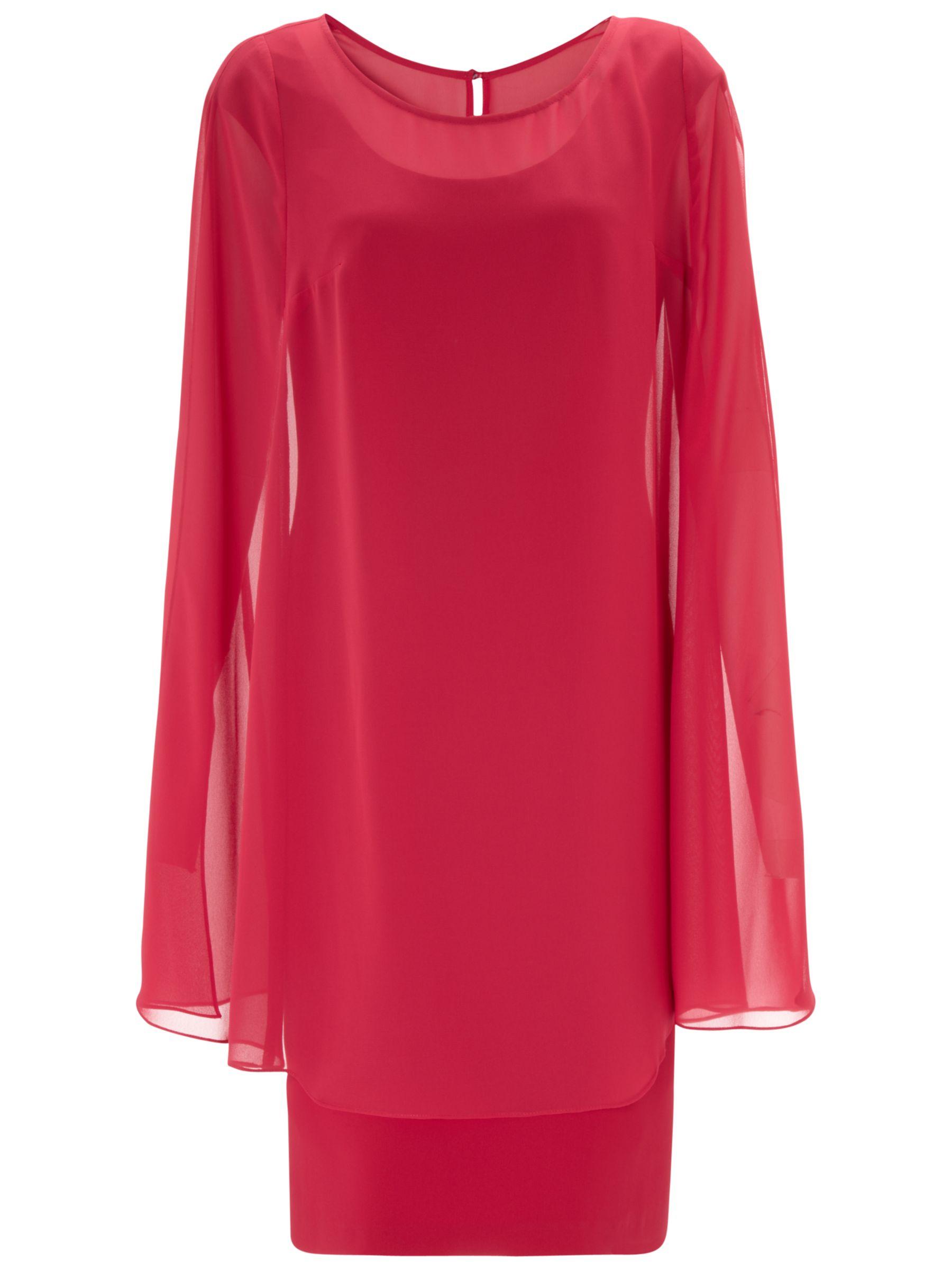 Gina Bacconi Dress And Cape, Poppy