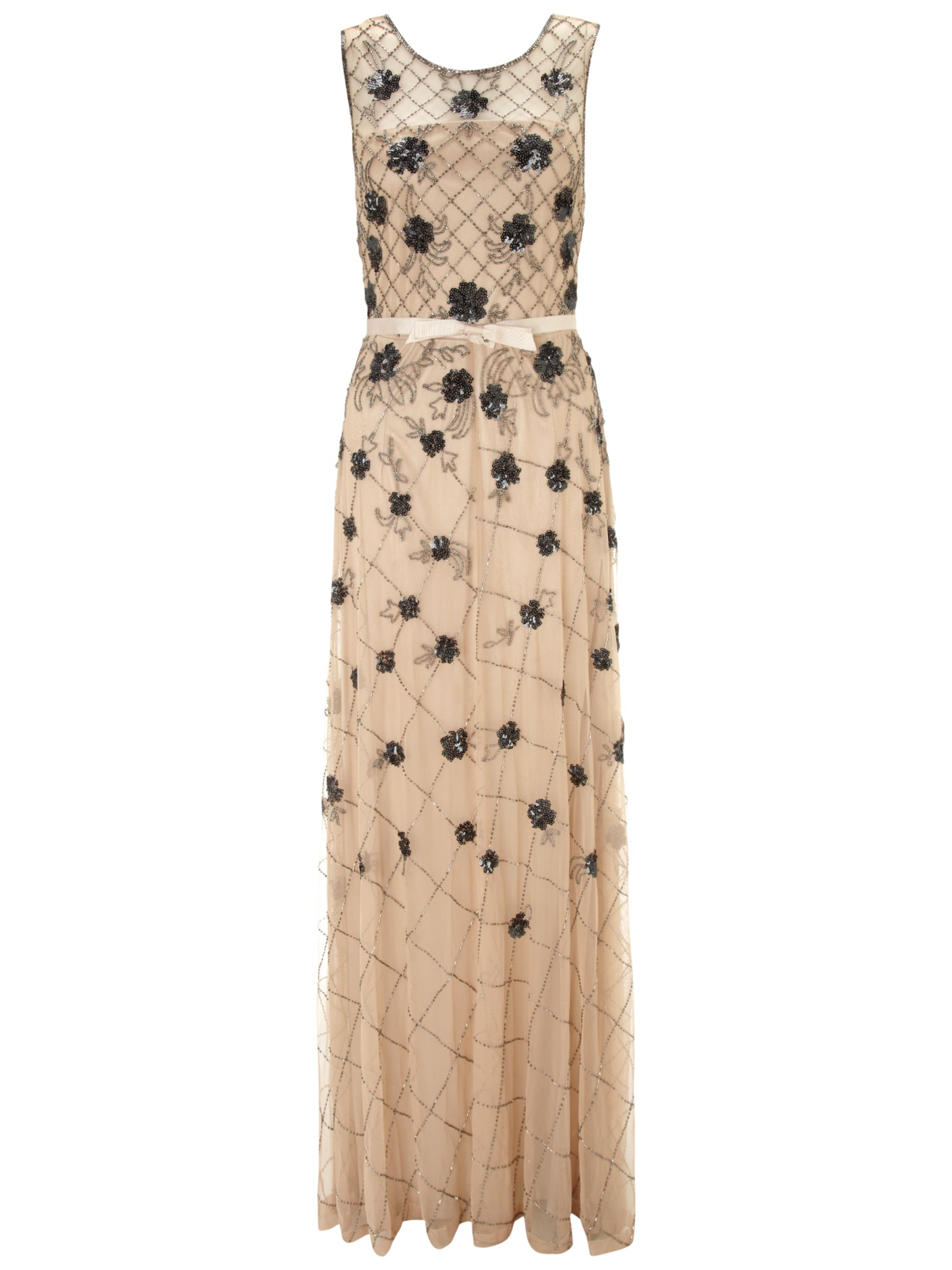 gina bacconi long bead mesh dress champagne, gina, bacconi, long, bead, mesh, dress, champagne, gina bacconi, clearance, womenswear offers, womens dresses offers, women, plus size, womens dresses, special offers, 1131408