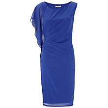 Buy Gina Bacconi Multi Chiffon Dress, Iris Online at johnlewis.com