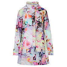Buy Ted Baker Duena Electric Daydream Parka, Lemon Online at johnlewis.com