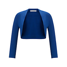 Buy Gina Bacconi Jersey Bolero, Summer Blue Online at johnlewis.com