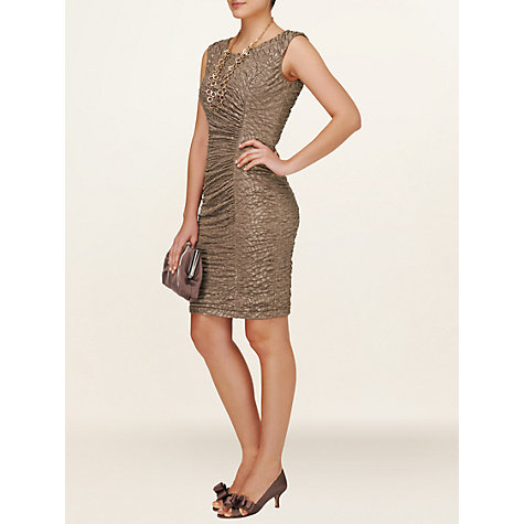 Buy Phase Eight Cordelia Dress, Praline Online at johnlewis.com