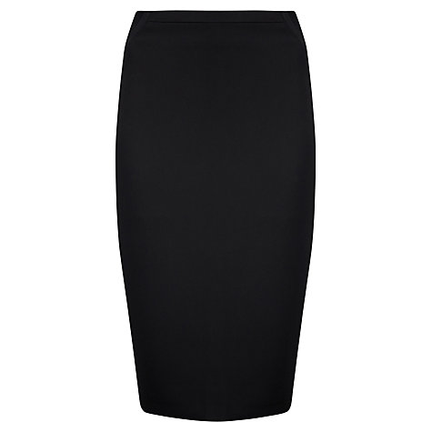 Buy Ted Baker Egland Technical Crepe Skirt, Black Online at johnlewis.com