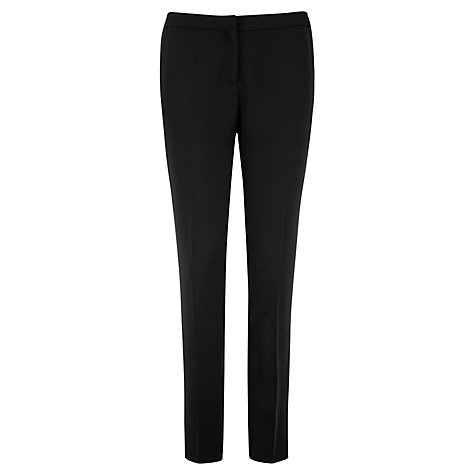 Buy Ted Baker Egland Technical Crepe Suit Trousers, Black Online at johnlewis.com