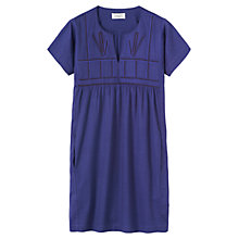 Buy Toast Masai Embroidered Dress, Soft Wysteria Online at johnlewis.com