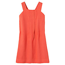 Buy Toast Linen Dress, Coral Online at johnlewis.com