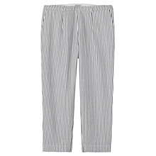 Buy Toast Freya Cropped Trousers, Blue/White Online at johnlewis.com