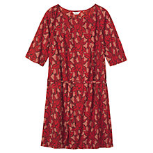 Buy Toast Esther Dress, Red Multi Online at johnlewis.com